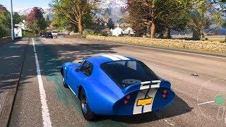 Forza Horizon 4 - Shelby Cobra Daytona Coupe 1965 - Open World Free Roam Gameplay (HD) [1080p60FPS]