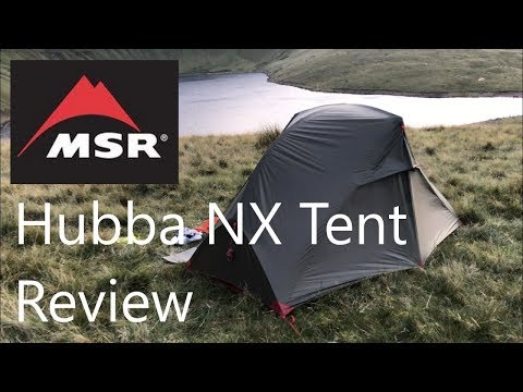 MSR Hubba NX 1 Person Backpacking Tent Overview