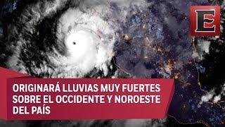 Huracán Willa tocaría tierra hoy en los límites de Sinaloa y Nayarit