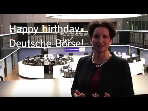 25 years of Deutsche Börse AG – Carola Gräfin von Schmettow