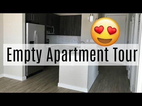 Empty Luxury Apartment Tour 2018 in  San Antonio  VLOG 3   Brittany Daniel
