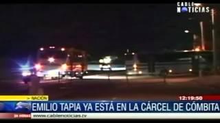 Repeat youtube video Emilio Tapia ya está en la cárcel de Cómbita, Boyacá