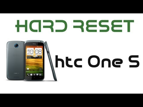 Hard Reset htc One S