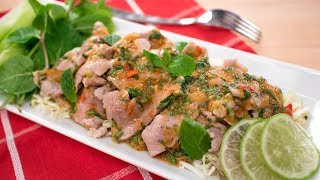 Spicy Garlic Lime Pork Recipe