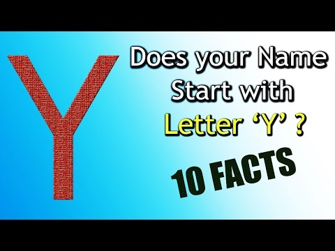 10 Facts about the People whose name starts with Letter 'Y' | Personality Traits