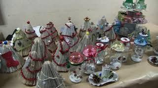 Marché de Noël de l'école primaire des Chaumes d'Avallon (89).