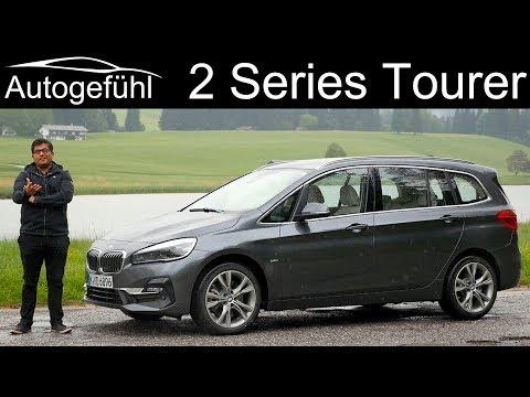 BMW 2-Series Gran Tourer FULL REVIEW 2 Series MPV 2er Facelift 2019 - Autogefühl
