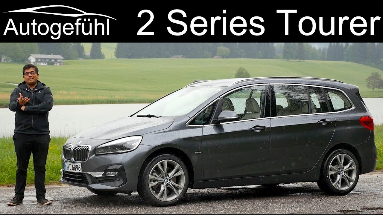 Bmw 2 Series Gran Tourer Full Review 2 Series Mpv 2er Facelift 2019 Autogefuhl