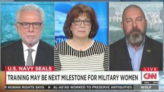 Jonathan T Gilliam on CNN discussing females in Ranger School and Navy SEAL Teams