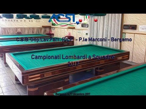 Finali Campionati Lombardi Squadre 2017 Live stream di Rosario Velardo