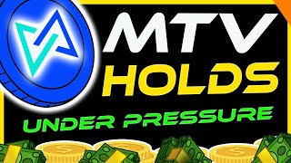 MultiVac Holding Up Under Pressure! MTV Analysis \u0026 Update   Crypto News Today