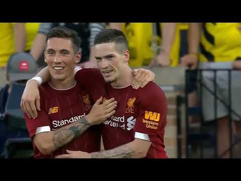 Liverpооl vs Bоrussia Dоrtmund 2 3 Highlights  2019-Liverpool Borissia Dortmund Hazırlık Maçı