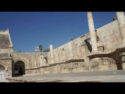 Roman Amphitheatre at Amman, Jordan
