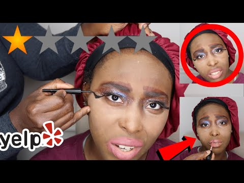 I WENT TO THE WORST REVIEWED MAKEUP ARTIST IN AMERICA !!! thumbnail