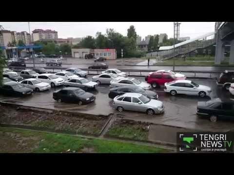 В Алматы из-за