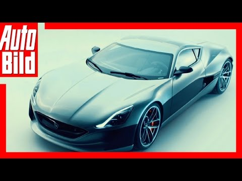 Rimac Concept One (2017) – E-Sportler mit 1224 PS / Details
