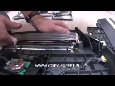 LASER UNIT Replacement RICOH AFICIO MP3500 MP4500 error sc320 335 336 337 338