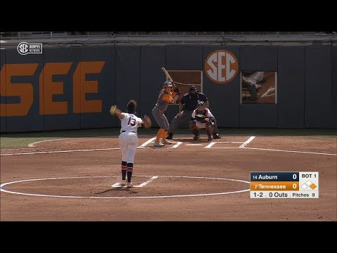 Auburn University Sports - Auburn Softball vs Tennessee Game 2 Highlights