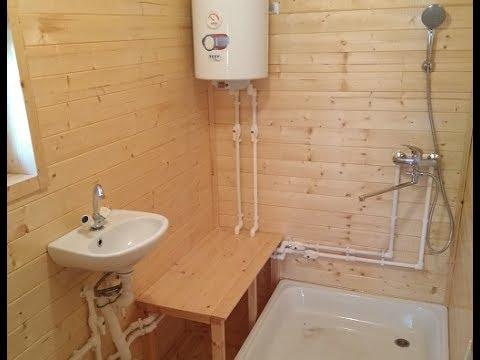 Водопровод из колодца в частный дом и баню в Чехове
