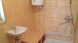 Водопровод на даче своими руками из колодца: схема монтажа: видео и фото