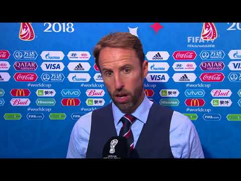 Gareth SOUTHGATE - Post Match Interview - MATCH 56