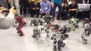 Korea International Robot Competition 2013 Survival Attack