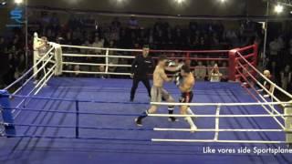 Contenders Part II - K-1 Championship - Kamp 14 - Michael Pedersen VS Haidar Zuhair