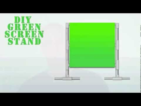 How To Create A Cheap DIY Green Screen Setup - YouTube
