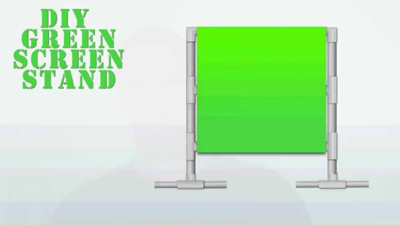 How To Create A Cheap DIY Green Screen Setup