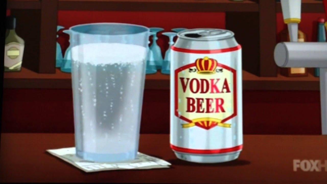 Wodka Bier