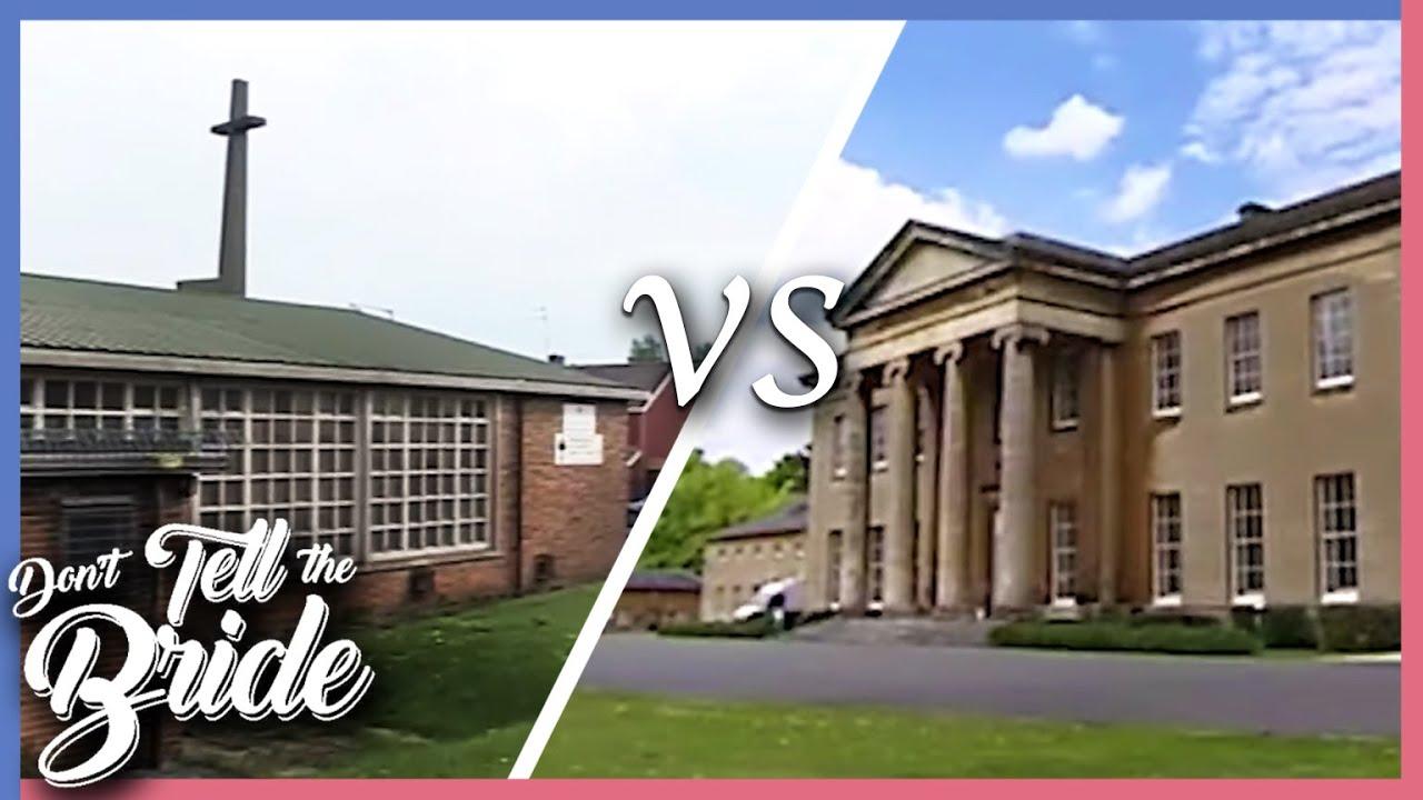 Church of England VS Bristol Mansion | Don't Tell The Bride