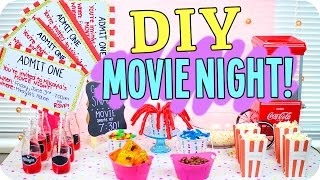 Gambar cover DIY Movie Night! Snacks, Decor & more!