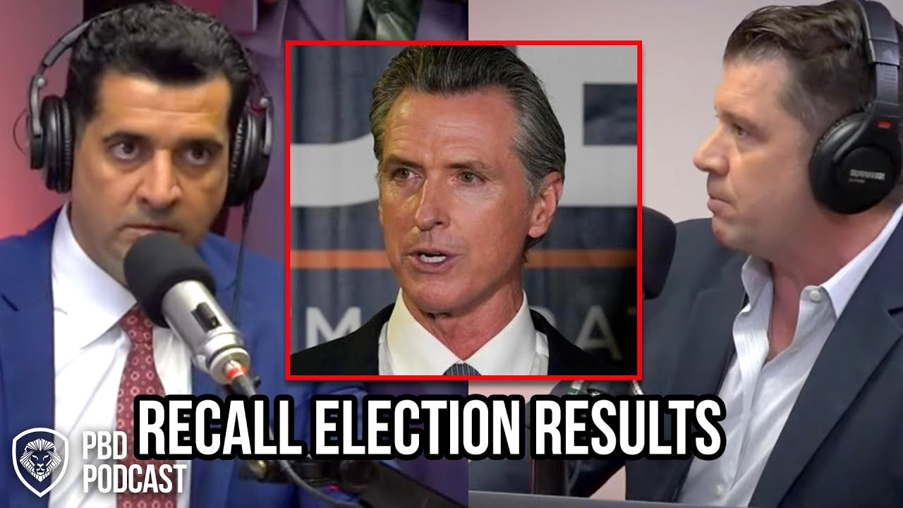 Reaction to Gavin Newsom Winning California Recall Election