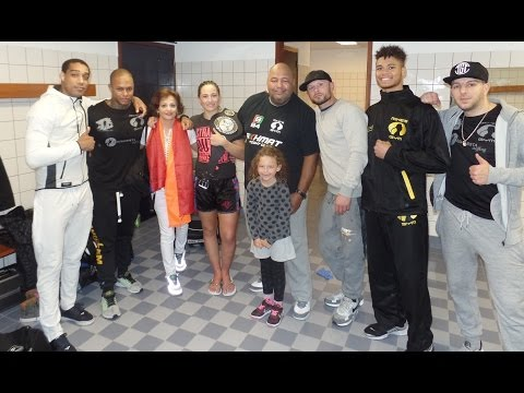 MIKES GYM - Anissa Haddaoui & Chico Kwasi win at The Warriors 4