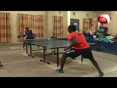 Chris Kyalo wins City Table tennis open challenge