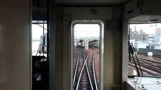 (MH)名鉄1700系1703f 上小田井通過警笛+ハーフ