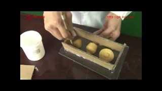 Как сделать силиконовые формы для выпечки.(Пищевой силикон. Как сделать форму для карамели, мармелада, шоколада, ....http://silicone.org.ua., 2013-04-23T16:09:23.000Z)