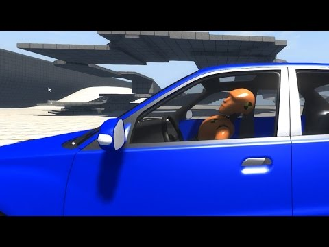 BeamNG.drive - Ragdoll Crash Test Dummy