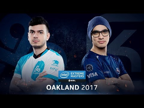 CS:GO - Cloud9 vs. SK [Train] - Group A Round 5 - IEM Oakland 2017
