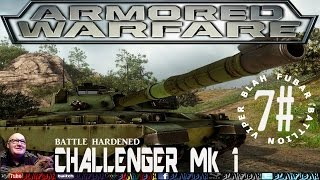 Armored Warfare,Challenger Mk1.Battle hardened,PvE Mission, 7#