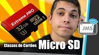 MEU CARTÃO microSD É FALSO? Classes de Cartões SD