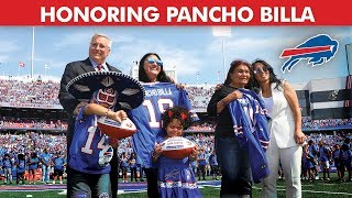 Buffalo Bills Celebrate Superfan Pancho Billa's Life At Home Opener