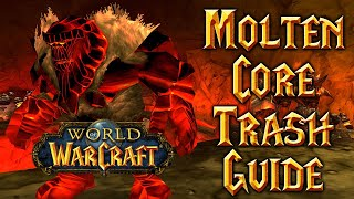 When Pulling: Molten C๐re (Classic WoW Hunter Guide)