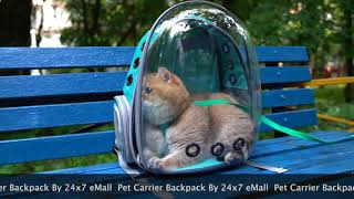 24x7 eMall pet carrier backpack