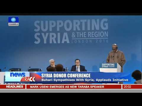 Syria Donor Conference: Buhari Condemns Violence, Human Rights Abuse