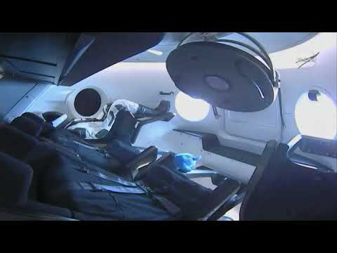 SpaceX Crew Dragon Hatch Opened, Astronauts Enter