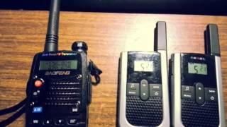 Настройка Baofeng UV-5RA на китайские 8 канальные PMR рации(Заказал я себе обалденную радиостанцию Baofeng UV-5RA ..., 2013-11-19T09:17:08.000Z)