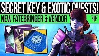 Destiny 2   SECRET LOOT KEY & EXOTIC QUEST! New Fatebringer, Malfeasance, Awoken NPC & New Mystery!