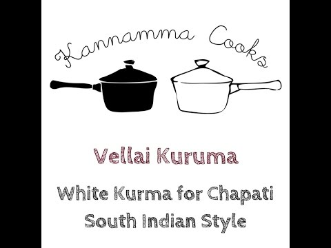 Vellai Kurma – Restaurant Style South Indian White Vegetable Korma