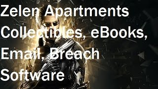 Deus Ex Mankind Divided - Zelen Apartments Collectibles